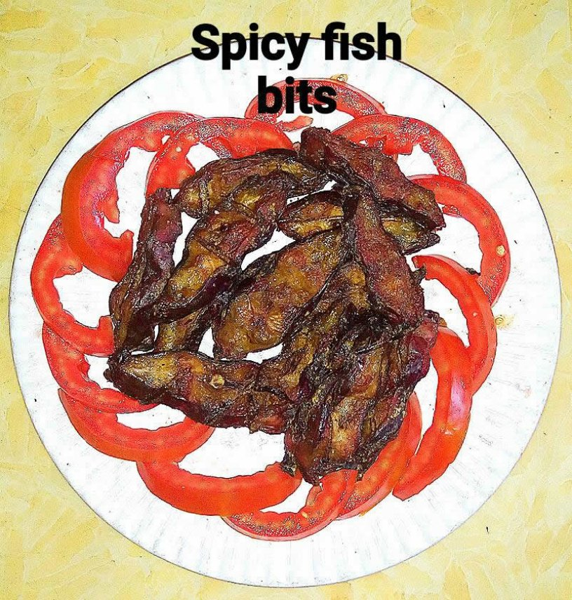 Spicy Fish Bits