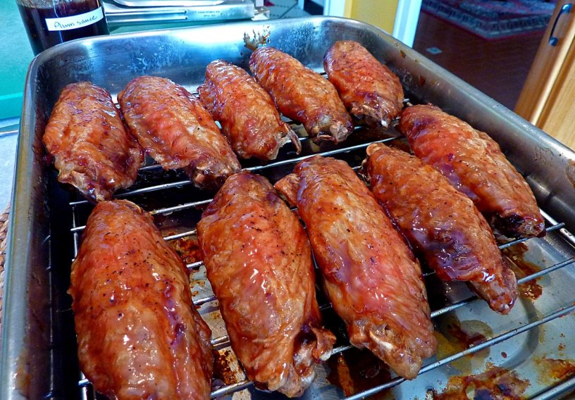 Barbeque Turkey Wings